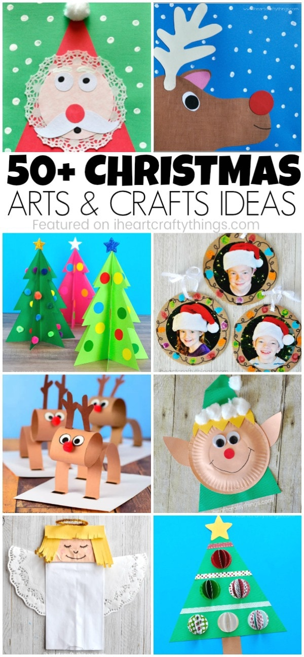 art and craft ideas for christmas 50 arts and crafts ideas i crafty things 7395