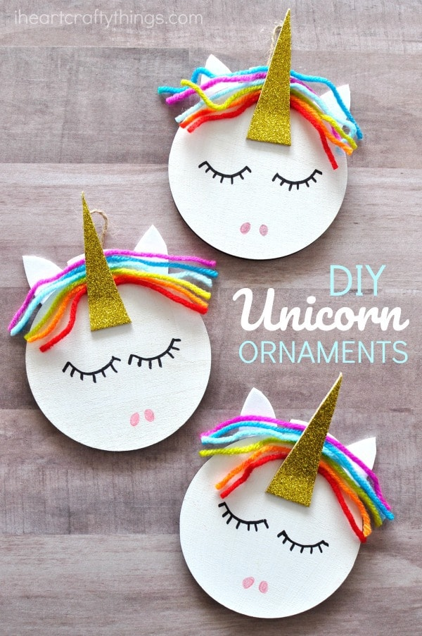 easy toddler craft ideas how to make a unicorn ornament i crafty 4384