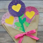 Valentine's Day Paper Flowers Craft