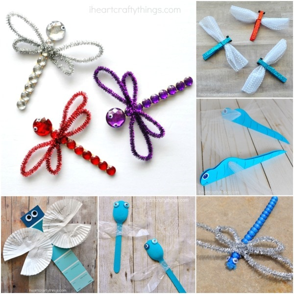 Here are over 25 amazing insects arts and crafts ideas kids of all ages will enjoy. Looking for fun spring kid craft ideas? Check out these creative butterfly crafts, bee crafts, ladybug crafts, dragonfly crafts and lightning bug crafts.