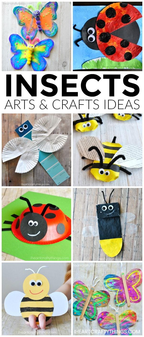 Lighting Bugs Craft For Preschoolers