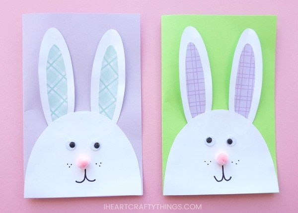 Cutest Bunny Diy Easter Card