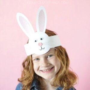 DIY Bunny Headband Craft for Kids