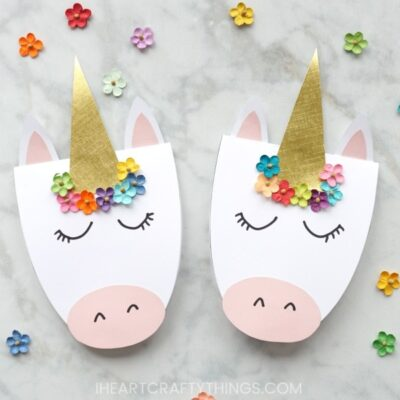 How to Make a Simple DIY Unicorn Card