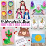 Here is list of 10 adorable Mother's Day card ideas that are simple enough that kids can make on their own. Whether you are looking for an easy template for kids to use or simply need an idea that even toddlers and preschoolers can create, you'll find a variety of Mother's Day Card ideas below for kids of all ages.