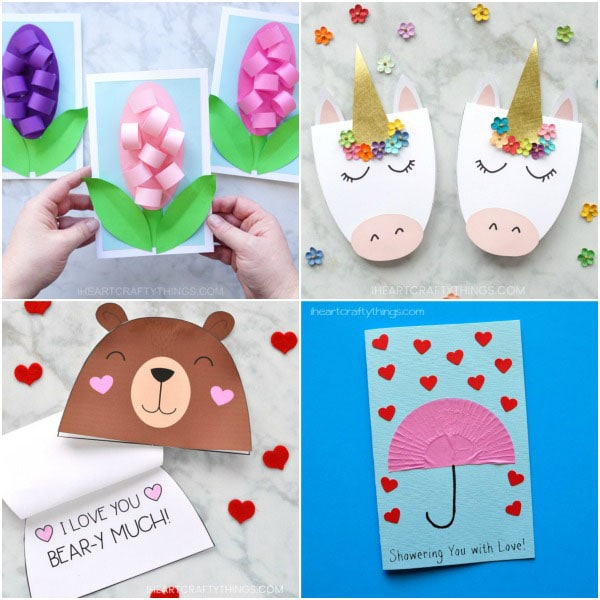 10 adorable mother 39 s day card ideas kids can make i for Things to do on mother s day at home