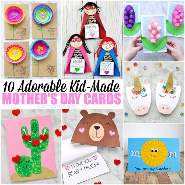 10 Adorable Mother S Day Card Ideas Kids Can Make