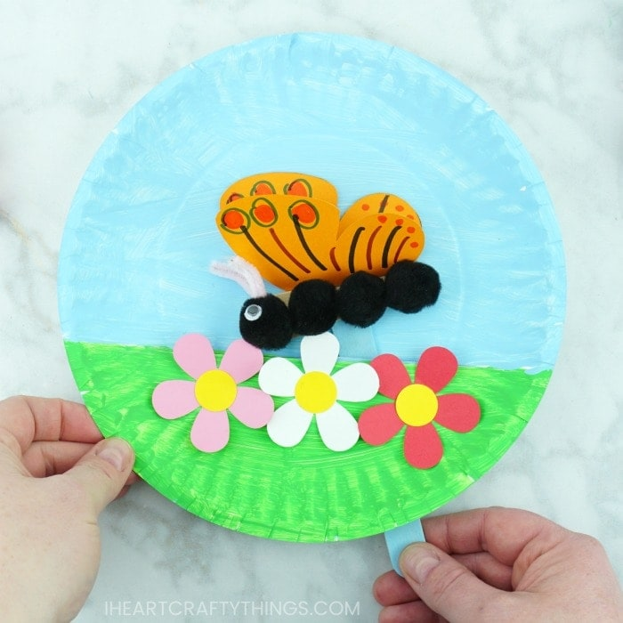 This Creative Butterfly Craft Is Perfect For A Colorful Spring Or Summer And Makes Great Compliment To Learning About Observing