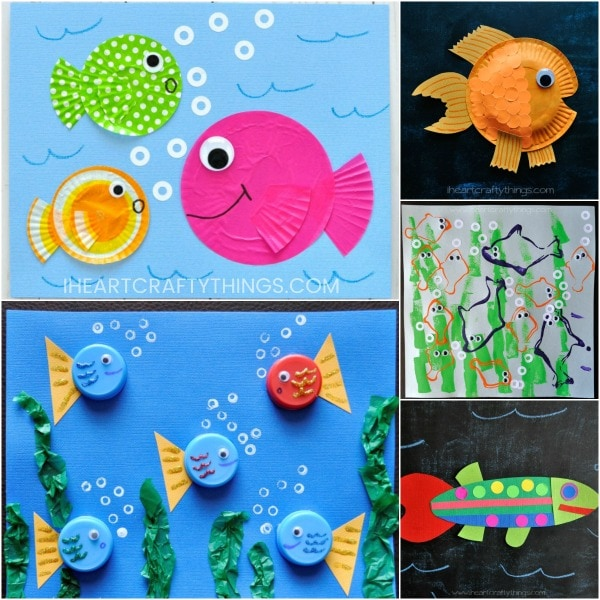 10 Fun Fish Crafts For Kids They Are Going To Love I Heart Crafty