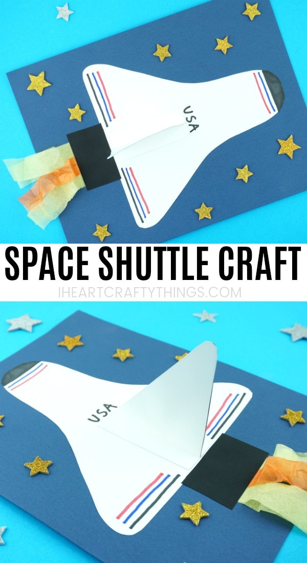 How To Make A Space Shuttle Paper Craft