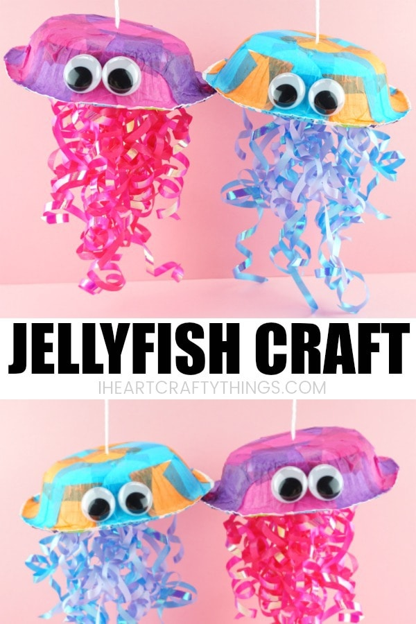 Colorful Jellyfish Craft For Kids I Heart Crafty Things