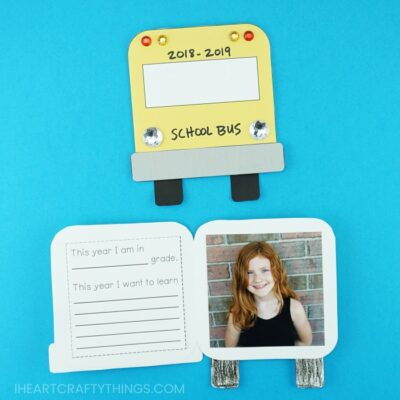Back to School Photo Keepsake Card