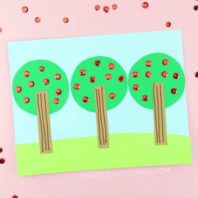 Easy Apple Tree Craft for Kids