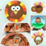 Paper Plate Thanksgiving Crafts