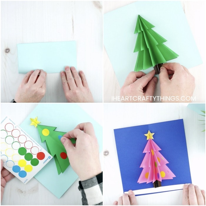 Origami Quick and Easy Christmas Tree | 700x700