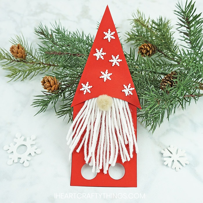 How To Make Pompom Gnome Ornaments Ornaments Christmas