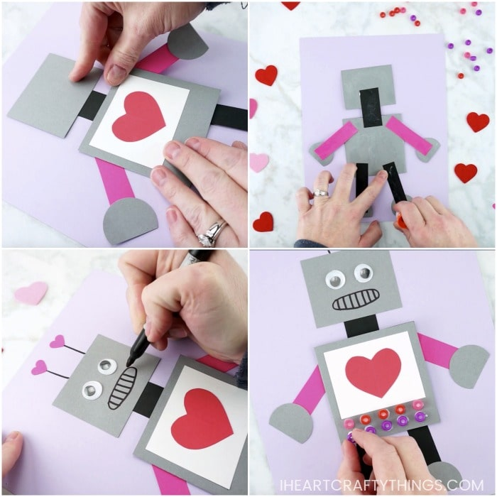 Robot Valentine Craft