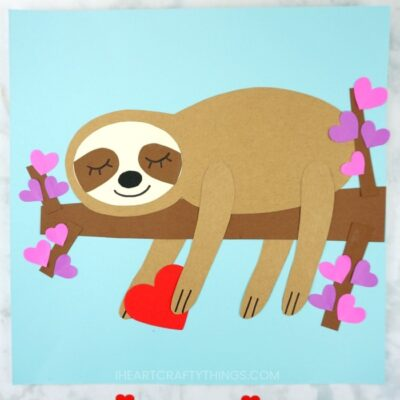 The Most Adorable Sloth Craft You've Ever Seen