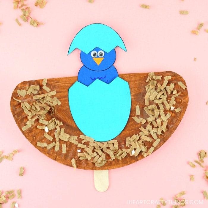 How To Make A Pop Up Bird Craft