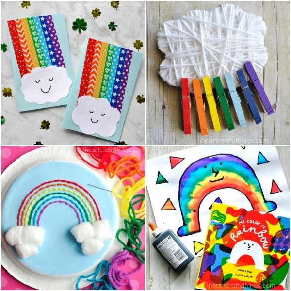 Easy Spring Crafts For Kids 150 Art And Craft Project Ideas For