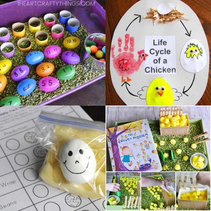 Easy Easter Crafts For Kids 50 Easter Arts And Crafts Ideas