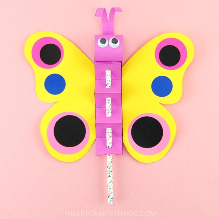 Pillangós alkotások ovisoknak