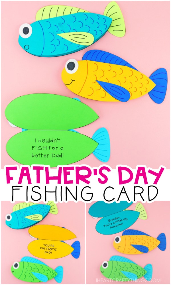 graphic relating to O Fish Ally Printable referred to as Printable Fathers Working day Fishing Card -Exciting for Dads who enjoy