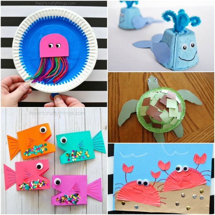 Easy Summer Crafts For Kids 100 Arts And Crafts Ideas For