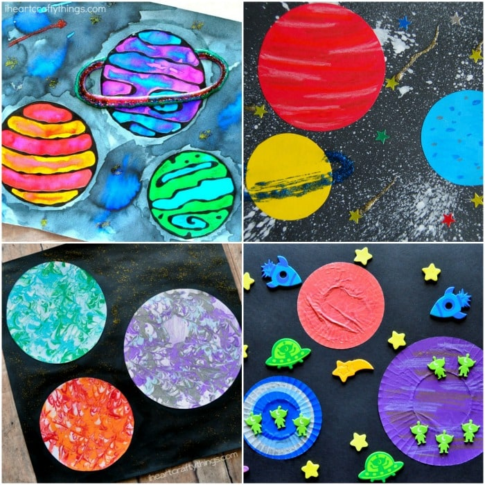 15+ Space Crafts For Kids -Easy Crafts For Preschoolers