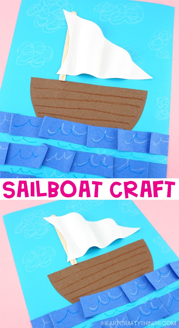 Easy Paper Boat Craft For Kids Fun Summer Craft Idea With