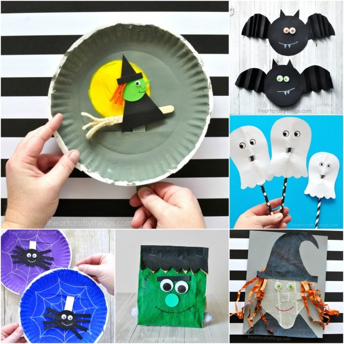 Fall Halloween Crafts.Easy Fall Crafts For Kids 100 Arts And Crafts Ideas For Children I Heart Crafty Things