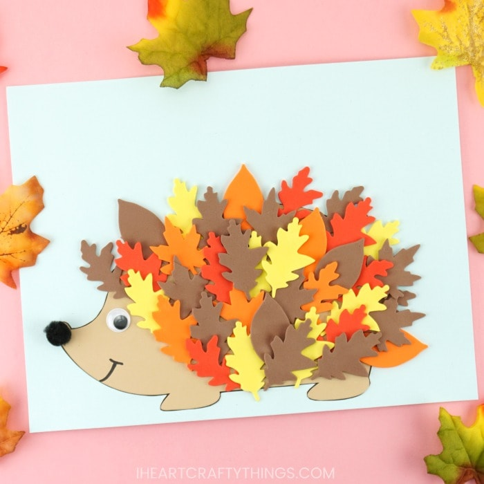 Free Hedgehog Template 3 Cute Ways To Make Hedgehogs For Fall
