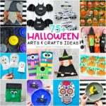 75+ Halloween arts and crafts ideas for Kids