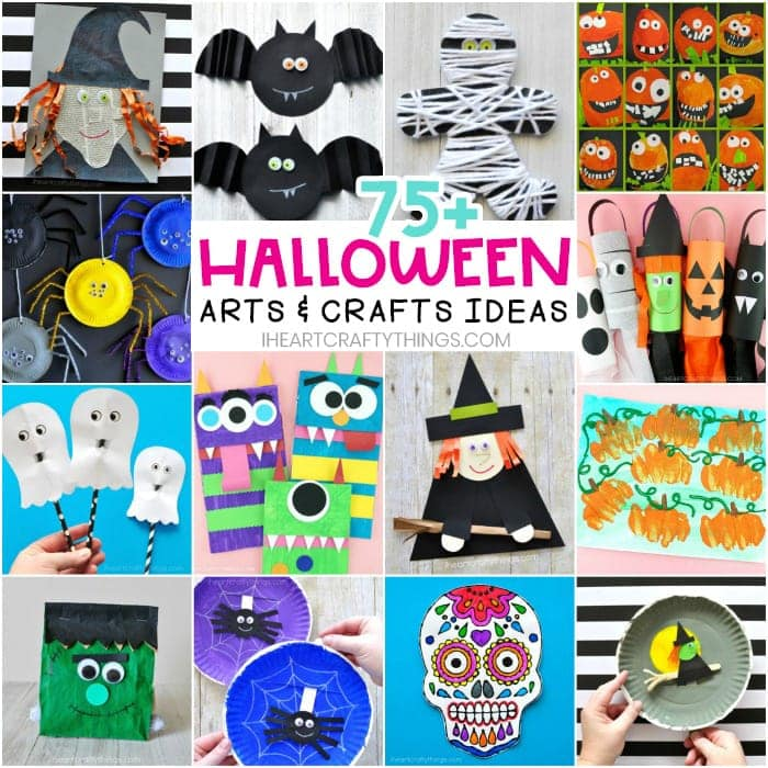 75 Fun And Easy Hallowen Arts And Crafts Ideas For Kids Of