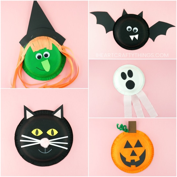 5 Fun And Easy Halloween Craft Ideas For Kids Free Templates