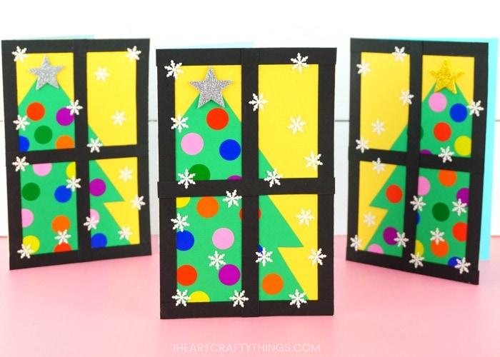 How To Make A Beautiful Christmas Tree Card Fun And Easy