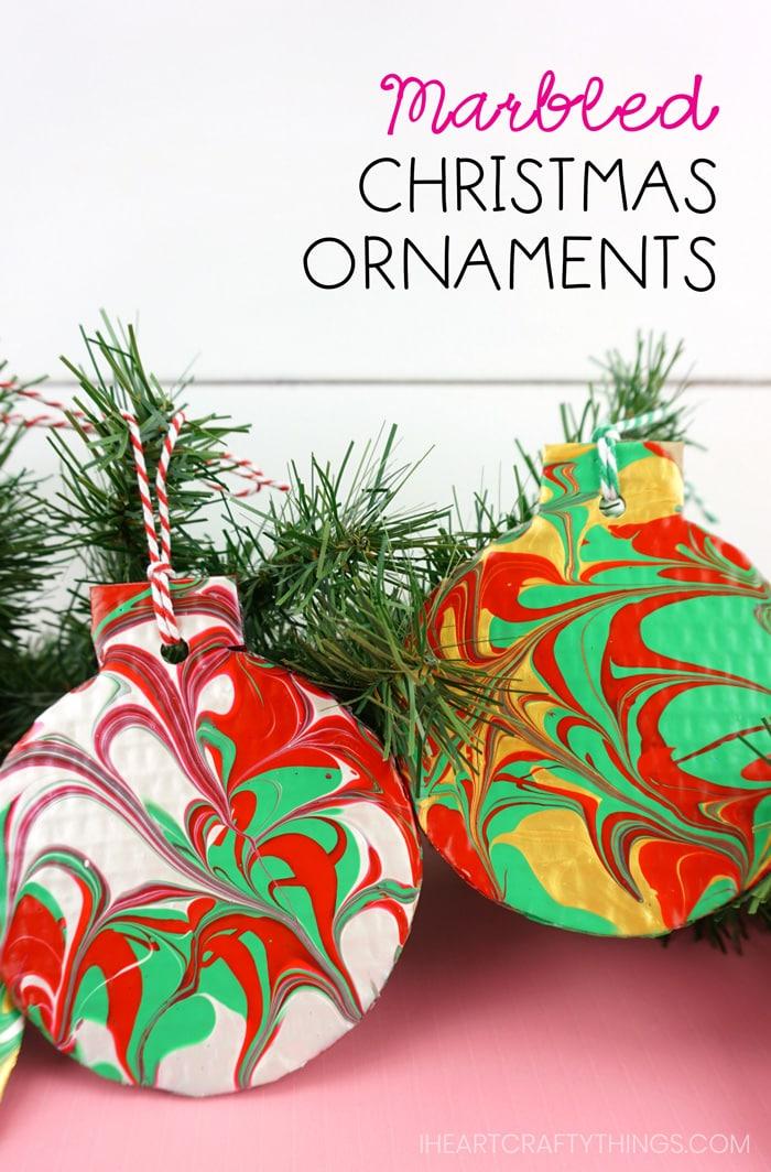 Marbles Christmas Tree Ornament