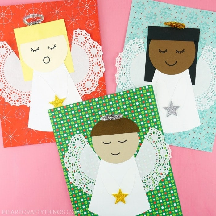 how to make paper angels