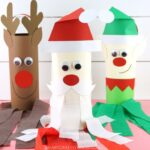 Christmas windsock craft