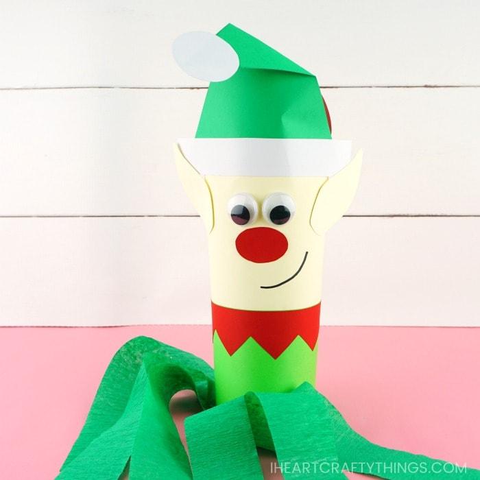 Christmas Windsock Craft Free Template Make A Santa Elf