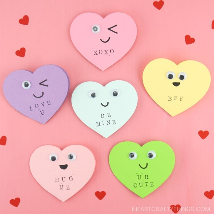 White Hearts heart cards thinking of you cards #D cards 8 hearts Valentine cards hearts White Cards,
