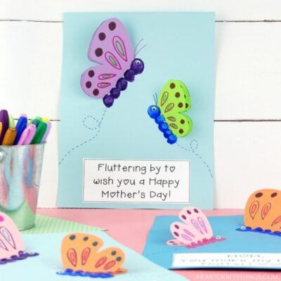 Mother's Day Butterfly Craft