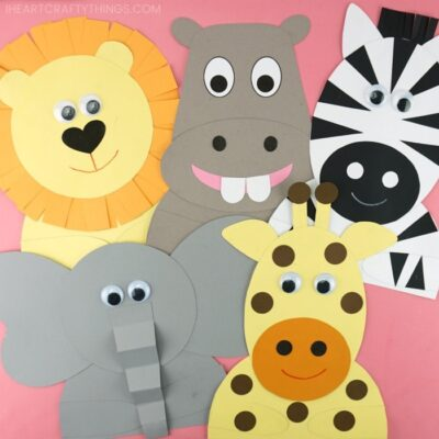 Fun Safari Crafts for Kids