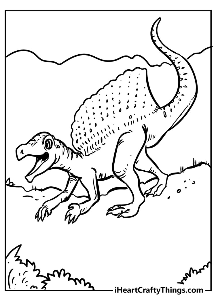 Dinosaur Coloring Pages Fearsome Fun And 100 Free 2021