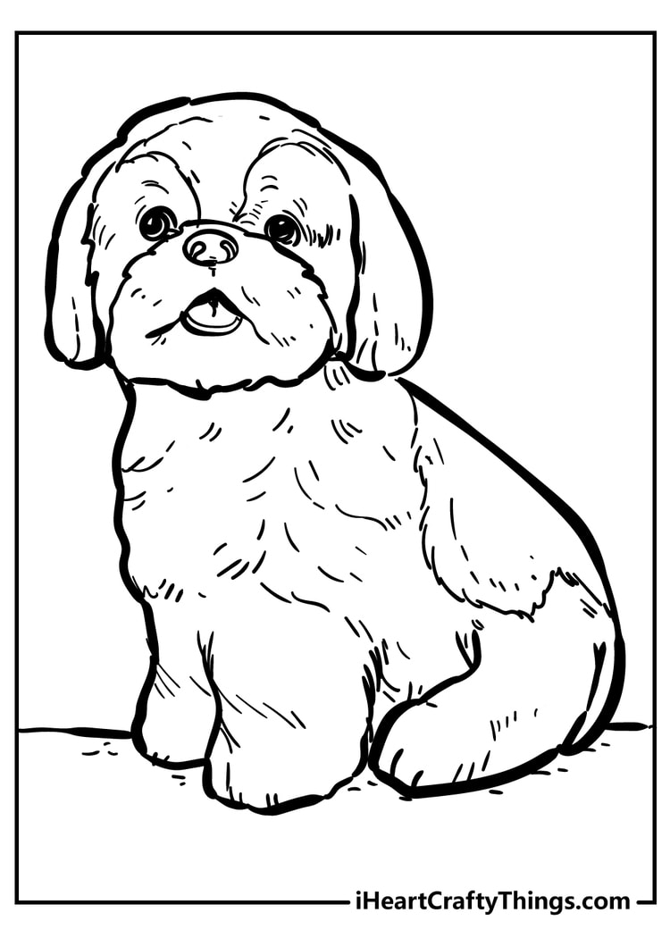 Dog Coloring Pages Super Adorable And 100 Free 2021