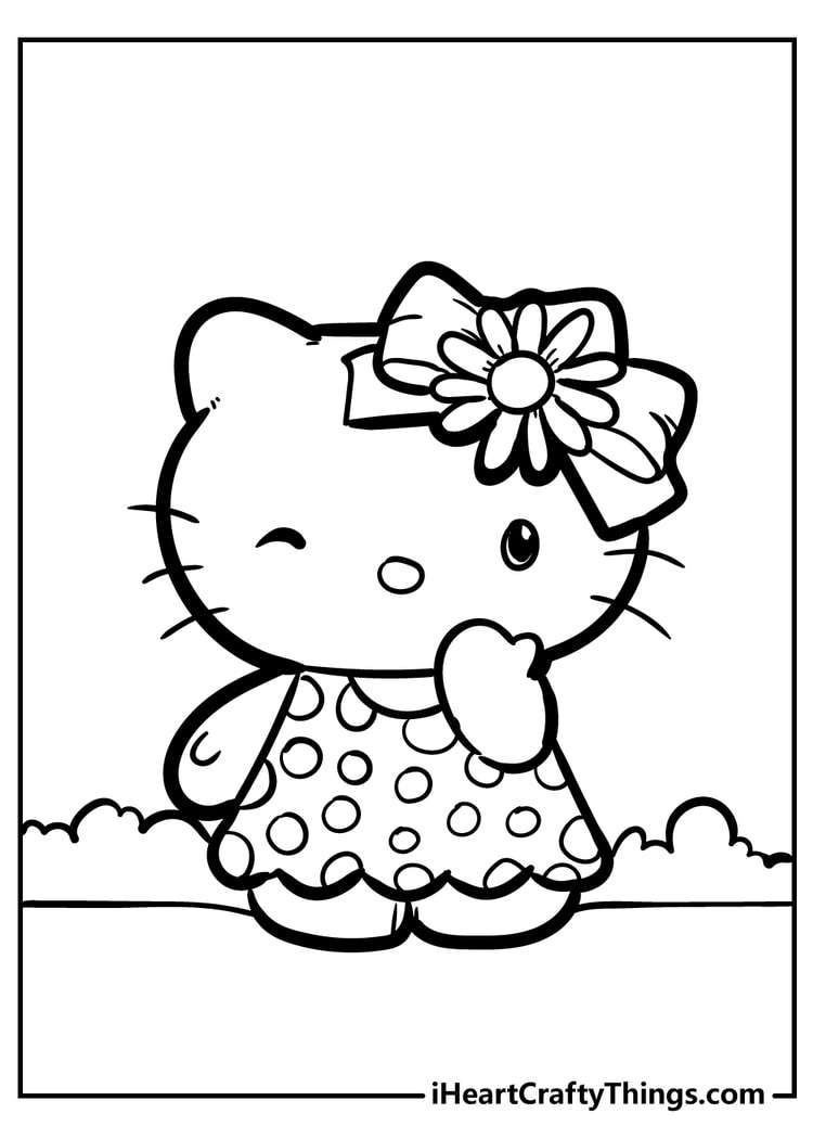 Hello Kitty Coloring Pages Cute And 100 Free 2021