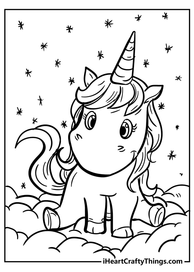 Unicorn Printable