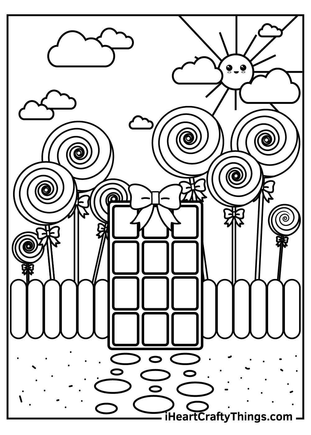 free candy printable