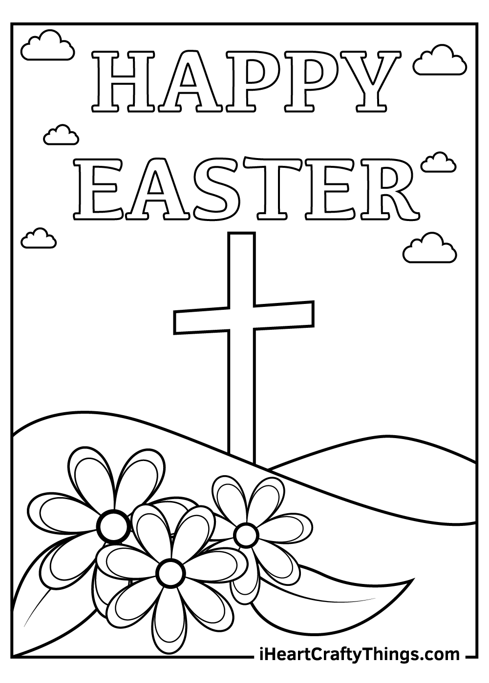 Printable Religious Easter Coloring Pages Updated 2021