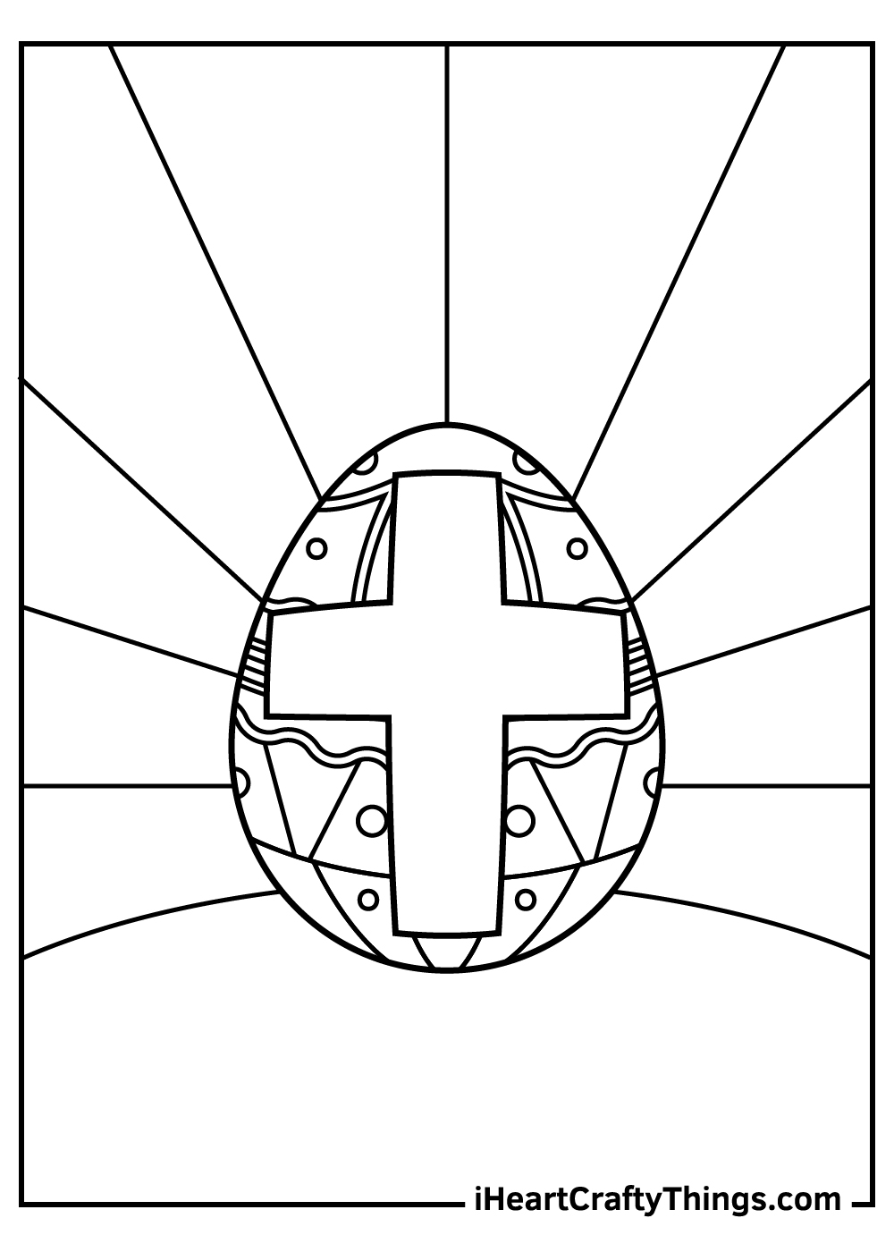 religious easter coloring pages pdf